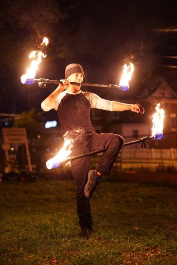 Double Staff Performance at Fundraiser 2017
