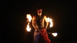 Nunchuck Performance for Video Shoot
